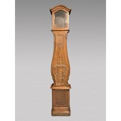Horloge sculptée aux oiseaux XIXe siècle