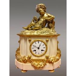 Napoleon III Goldene Bronze-Uhr