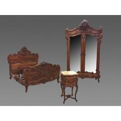 Schlafzimmer é Coucher-Stil Louis XV Rocaille