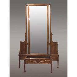Großer Jugendstil-Spiegel