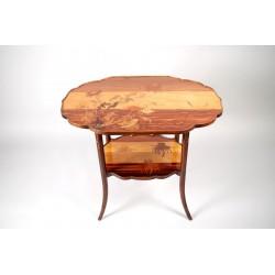Jugendstil-Sockel-Tisch von Emile Gallé