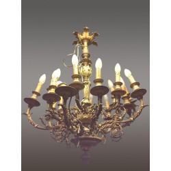 Großer Kronleuchter im Stil Louis XVI
