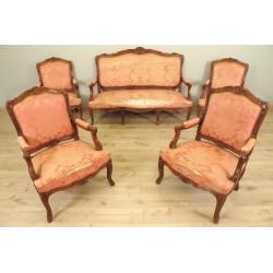 Salon im Stil von Louis XV