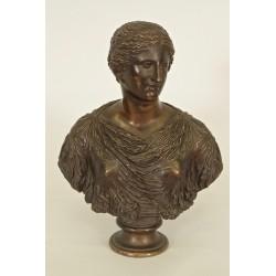 Antike Barbara-Frauenbüste Fondeur