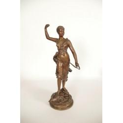 Bronze Diane Chasseresse von Levasseur
