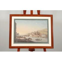Blick aus Lyon von Johann Ludwig Bleuler