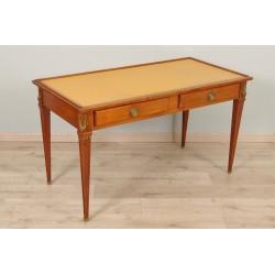 Flacher Schreibtisch im Stil Louis XVI