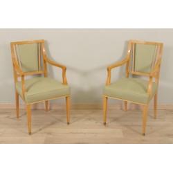 Paar Sessel im Jean-Desnos-Stil von 1940