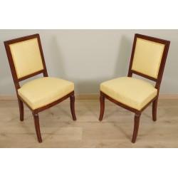 Paar Stühle Restaurierung