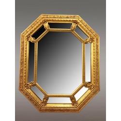 Goldener Spiegel Napoleon III. mit Parecloses