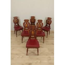 Stühle im Renaissance-Stil