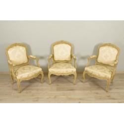 Gestell Sessel im Stil Louis XV