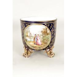 Cache-pot Napoléon III En Porcelaine