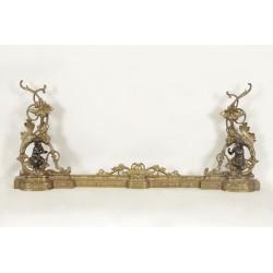 Kaminfront im Stil Louis XV