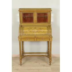 Lackierter Schreibtisch im Stil Louis XVI