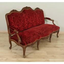 Sofa im Stil Louis XV, Periode Napoleon III