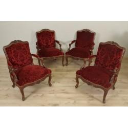Sessel im Stil Louis XV, Periode Napoleon III