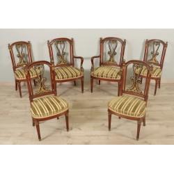 Sessel und Stühle Empire-Stil