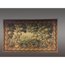 Großer Wandteppich im Stil des 18. Jahrhunderts