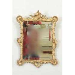 Louis XV Stil Spiegel vergoldetes Holz Napoleon III