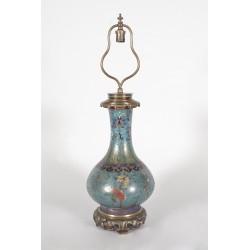 Gagneau-Lampe Fernost-Stil in Cloisonné