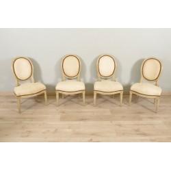 Gemalte Stühle Louis XVI Periode