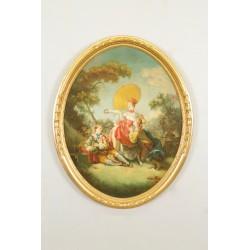 Tableau école italienne style XVIIIe siècle