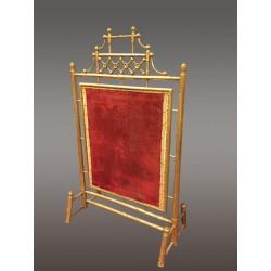 Fireguard Napoleon III Bambus Goldenes Holz