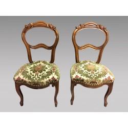 Paar Stühle Napoleon III