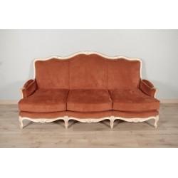 Gemaltes Sofa im Louis XV-Stil