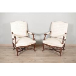 Paar Sessel im Regency-Stil