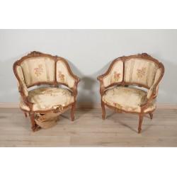 Paar Hirten Louis XV Stil