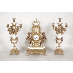 Kamineinsatz im Stil Louis XVI