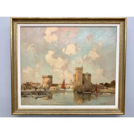Ernest Vautherin - Der Hafen von La Rochelle
